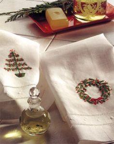 Free Embroidery Designs: Christmas Wreath & Christmas Tree - I Sew Free