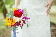 Colorful Farm to Table Wedding Inspiration by Ashlee Little Weddings + Events and Kendall Lynnette Photography & Design  Blog: http://ashleelittle.com/blog/2014/2/26/featured-style-me-pretty   Read more - http://www.stylemepretty.com/north-carolina-weddings/durham/2014/02/26/colorful-farm-to-table-wedding-inspiration/