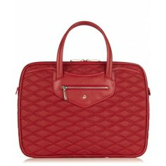 KNOMO Charlotte Slim Laptop Briefcase