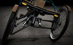Kaylad-e: an electric trike concept by Dimitris Niavis
