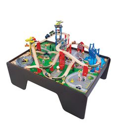 Look at this Super Expressway Table & Train Set on #zulily today!