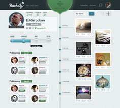 very cool app style UI