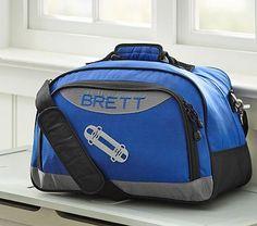 Colton Blue Duffle Bag #pbkids