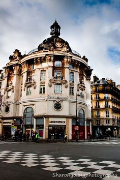 Monoprix, Paris...France's answer to Super-Walmart and Target
