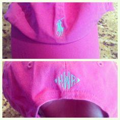 Monogram Ralph Lauren ball cap