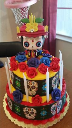 Book of Life Cake