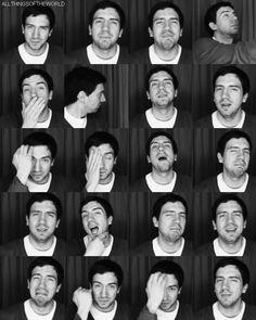 the many faces of gary | charlottelovessnowpatrol.tumblr.com