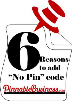 "6 Reasons Why You Should Use Pinterest ""No Pin"" Code"