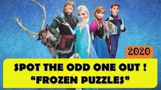 Did you know 'Spot the Difference' or 'Odd one Out' games are know to be very effective for training of the right brain? Animated Cartoons, Cool Cartoons, Cartoon Fun, Emoji Quiz, The Odd Ones Out, Avengers Characters, Frozen Movie, Brain Training Games, Best Brains