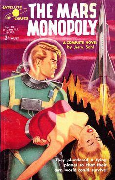Satellite Series, 1958. Cover art by Phil Belbin.