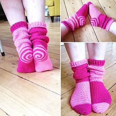 Awesome crochet socks-Free Pattern!