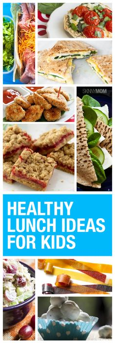 Try out some of these healthy and delicious lunch options for your kiddos this summer.