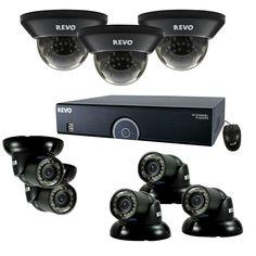 Revo 16-Channel 2TB 960H DVR Surveillance System with (8) 700 TVL 100 ft. Night Vision Cameras