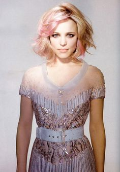 Pink + blonde hair?! What a gorgeous combo.