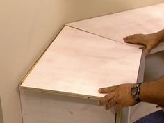Installing a Banquette: Build a Frame for Seating, Build Facings for Door Openings and Install Top : How-To : DIY Network