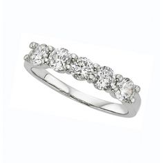 Classic 5 stone diamond band from PeJay.  Perfect for an anniversary or push present R3335.25 <3CapriJewelers