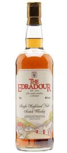 Edradour 10 year old scotch single malt whisky