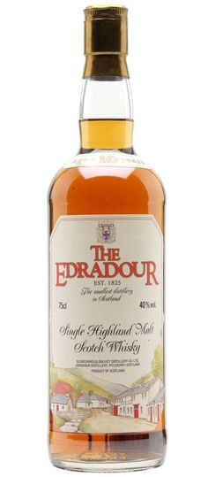 Edradour 10 year old scotch single malt whisky
