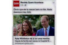 Nem todo mundo feliz com o nascimento do bebê real – viu a bola fora dessa revista? - Blue Bus