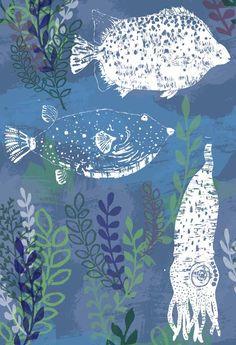 Hannah Bowen - Surface Pattern Designer and Illustrator Hannah Bowen - layers