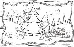 placemat Kerst