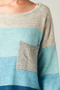 Laurel Sweater in Blue