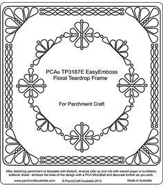 PCA Ražba Pergamen Šablony TP3176E - TP3200E