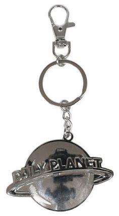 Superman - Man Of Steel Daily Planet Logo Keychain