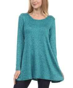 Look what I found on #zulily! Teal Swing Tunic #zulilyfinds