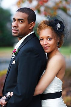 black and white weddings - African American, Black Bride & Groom, Black Love - Black • L❤VE