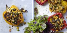 Stuffed Capsicums via @iquitsugar