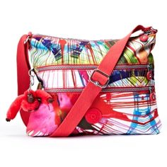 Alvar Print Cross-Body Bag - Kipling  The monkey makes it.