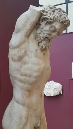 Archeology Museum Istanbul/ Turkey, Execution of the Satyr