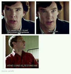 Point for Sherlock!!