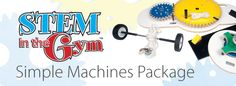 Enhance classroom learning with physical activity. Get $200 off the STEM in the Gym - Simple Machines Package #STEMintheGym