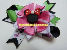 flores en cinta para decorar lazos, moños accesorios para el cabello de ...