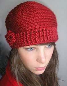 I have an orange winter hat like this. My boyfriend gave it to me as a christmas present.