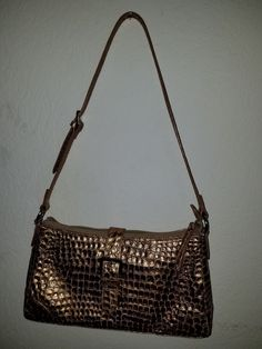be4d122be194 Brown in color with a edging of alligator print. Thank you Big Barn Sales.  Purses And BagsShoulder ...