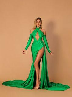 Peach Dress Short, Short Dresses, Mint Green Dress, Purple Dress, Gala Dresses, Bridal Dresses, Slit Dress, Dress Up, Glam Photoshoot