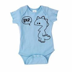 Rar Rabbit Skins Onesie - I wish I had a baby nephew! (@Jenny Fjeldsted can you work on that?)