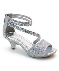 a77300225e7 Love this Silver Shimmer Sandal by Bolaro on  zulily!  zulilyfinds Baby  Boots