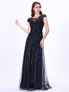Looking for a perfect navy lace long prom dress with crystal for your event online? Luluslly is the best place for you to find your dreamy dress with affordable price, fast delivery worldwide. Beaded Evening Gowns, Mermaid Evening Gown, Long Evening Gowns, Formal Evening Dresses, Evening Party, Navy Cocktail Dress, Affordable Prom Dresses, Homecoming Dresses, Party Dresses