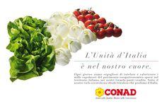 Conad, Sapori e Dintorni; Creatività della ABC, digital division: http://we-b.it
