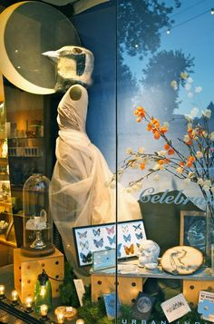 Midsummer's Night Dream window, Urban Indigo 2014. Styling: Hector Hudosh