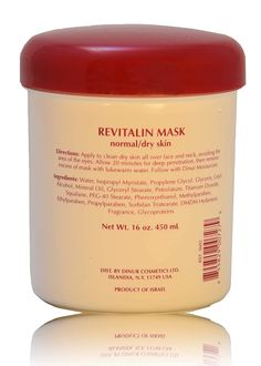 Dinur Cosmetics REVITALIN MASK 1 lb, 16 oz, 450 ml. >>> Want to know more, click on the image. (This is an affiliate link) Mask For Dry Skin, Dry Sensitive Skin, Mineral Oil, Facial Masks, Skin Care Tips, Moisturizer, Alcohol, How To Apply, Iceland