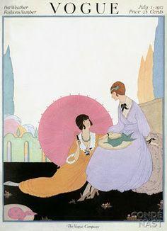 Art Deco Fashion Drawings by Helen Dryden (1887-1981)