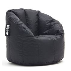 Big Joe Milano Bean Bag Chair Stretch Limo Black - 638602, CT295-1