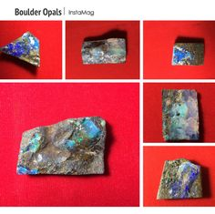 New @ Peninnah Opals Beautiful Boulder Opals with a rough surface and flat back 🎉🌷🌺 For wirewrapping, setting or the mineral collection ... We can also drill holes for you.