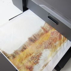 Tissue paper is no longer just for stuffing gift bags. These days I'm using tissue paper in a lot of my art and paper projects because it is so versatile. It's flexible, semi transparent, thin and printable. Today's tutorial is about how to print on tissue paper.