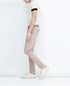 ZARA - UOMO - Pantaloni colorati
